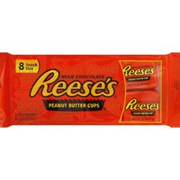Reese's Peanut Butter Cups, Milk Chocolate, Snack Size