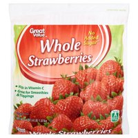 Great Value Whole Strawberries, 64 oz