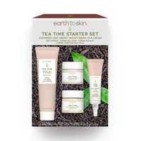 Earth to Skin Tea Time Anti-Aging Set