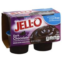 Jell-O Ready to Eat Sugar Free Dark Chocolate Pudding Snack