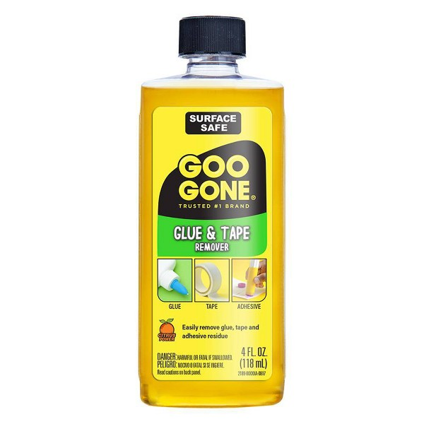 Glue and Tape Remover 4oz - Goo Gone