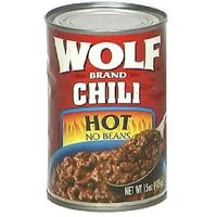 Wolf Hot Chili without Beans