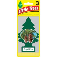 LITTLE TREES air fresheners Royal Pine 3-Pack
