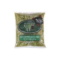 Authentic New Mexican Hatch Hot Chopped Green Chile 3 lb