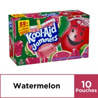 Kool-Aid Jammers Watermelon Flavored Drink, 10 ct - Pouches, 60.0 fl oz Box