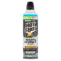 Hot Shot Wasp And Hornet Killer 17.5 Ounces, Up to 27 Foot Jet Spray