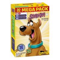 Scooby Doo Fruit Snacks, Mega Pack, 30 ct, 0.8 oz