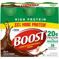 Boost High Protein Complete Nutritional Drink Rich Chocolate