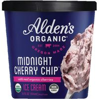 Alden's Aldens Organic Ice Cream, Double Dutch Chocolate, Organic, Cup