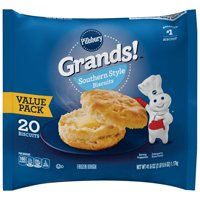 Pillsbury Grands! Southern Style Biscuits Value Pack, 20 Ct, 41.6 oz