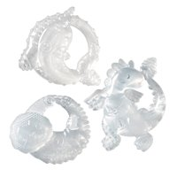 Infantino Crystal Clear 3 Stage Teether Set