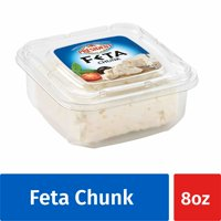 President All-Natural Feta Cheese Chunk, 8oz.