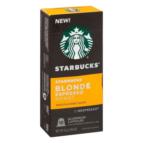 Starbucks by Nespresso Original Line Capsules — Blonde Roast Espresso