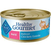 Blue Buffalo Cat Food, Indoor Chicken Entree, Pate