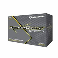 TaylorMade RocketBallz Speed Golf Balls, 24 Pack