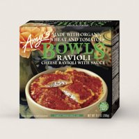 Amy's Frozen Bowls, Cheese Ravioli with Sauce, Non GMO, 9.5-Ounce