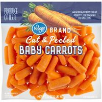 Kroger Cut & Peeled Baby Carrots