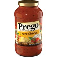 Prego Three Cheese Italian Sauce, 24 oz.