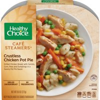 Healthy Choice Cafe Steamers Frozen Dinner, Crustless Chicken Pot Pie, 9.6 Ounce
