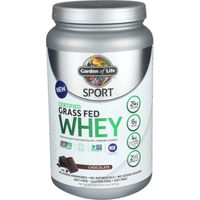 Garden of Life Whey, Certified Grass Fed, Chocolate