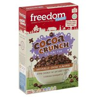 Freedom Foods Cereal, Cocoa Crunch, Tic Tac Toe