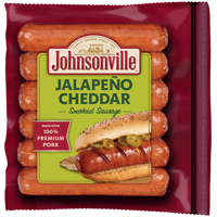Johnsonville Jalapeño & Cheddar Smoked Sausages 6 Count, 14 oz