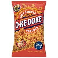 O-Ke-Doke Hot Stuff Cheese Popcorn, 7.5 Oz