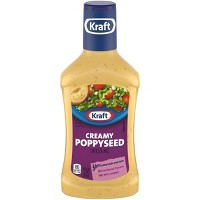 Kraft Creamy Poppyseed Salad Dressing - 16oz