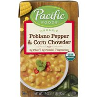 Pacific Organic Poblano Pepper & Corn Chowder