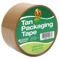 Duck Standard Packing Tape 1.88 in. x 50 yd., Tan, 1-Count