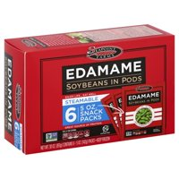 Seapoint Farms Edamame Soybeans in Pods 6-5 oz. Snack Packs