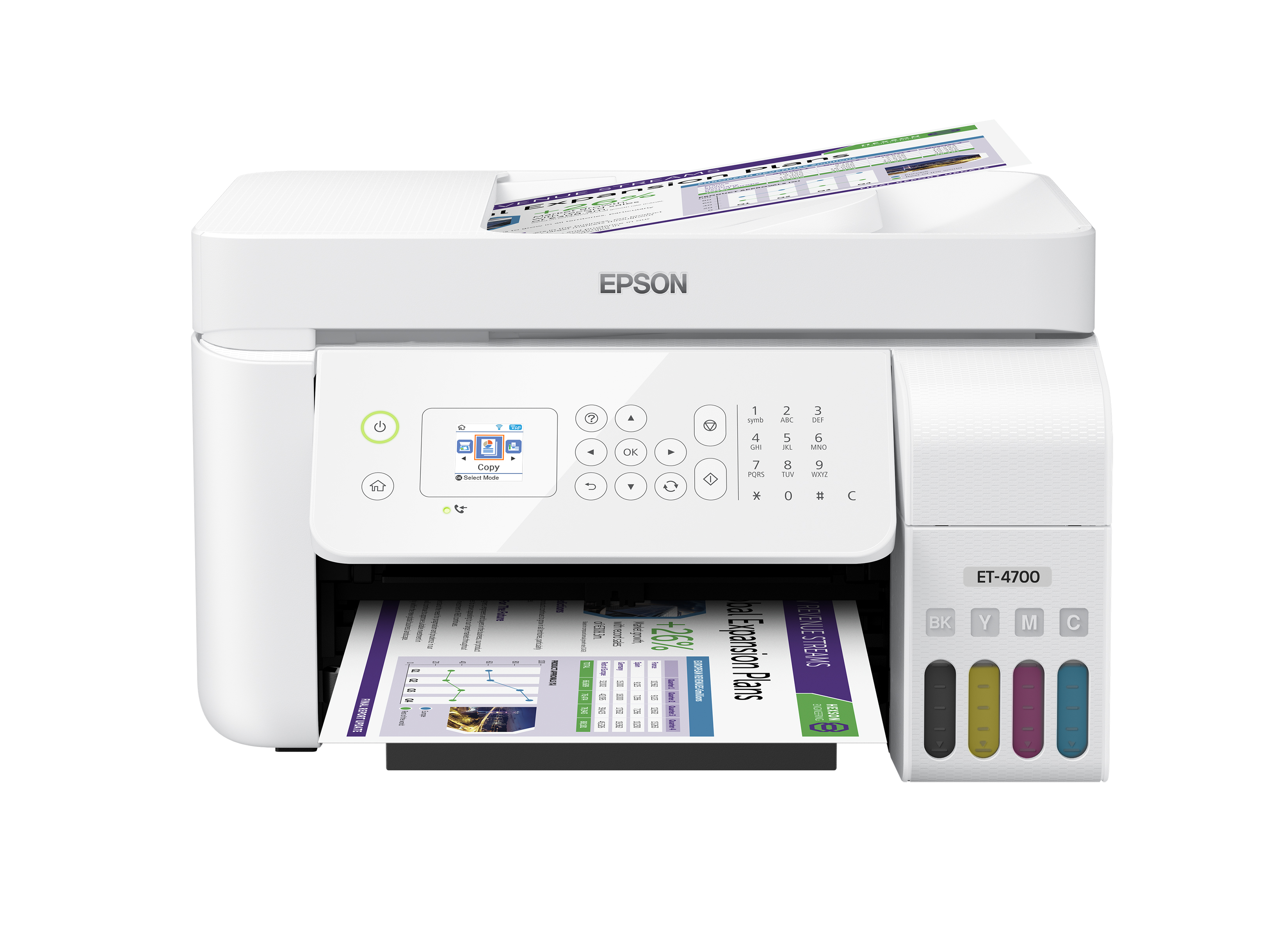 Epson EcoTank ET-4700 Wireless All-in-One Color Supertank Printer