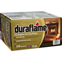 Duraflame the Brighter Burning Firelog Gold, 6-Pack 2.5 lb (02577)