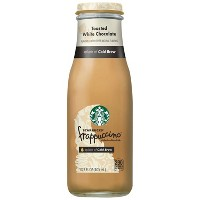 Starbucks Frappuccino Crafted With Cold Brew, Toasted White Chocolate- 13.7 fl oz Glass Bottle