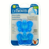 Dr. Brown's Silicone Pacifiers 0m+ - 2 CT