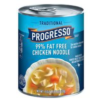 Progresso Soup, 99% Fat Free, Chicken Noodle, Traditional