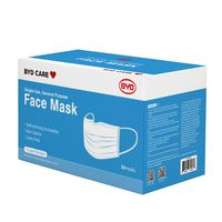 BYD Single Use General Purpose Face Mask, 50 ct