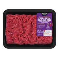 All Natural* 96% Lean/4% Fat Extra Lean Ground Beef Tray, 1 lb