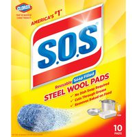SOS Reusable Soap Filled Steel Wool Pads