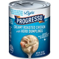 Progresso Light Creamy Roasted Chicken With Herb Dumpling Soup 18.5 oz