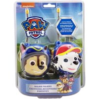 Paw Patrol Chase and Marshall Character Walkie Talkies