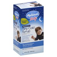 Hyland's Baby Baby Nighttime Tiny Cold Syrup