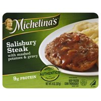 Michelina's Salisbury Steak 8 oz. Tray