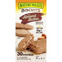 Nature Valley Cinnamon Biscuits With Almond Butter, 30 x 1.35 oz