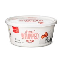 Whipped Frozen Topping - 8oz - Market Pantry™