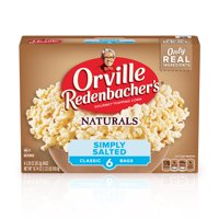 Orville Redenbachers Naturals Simply Salted Popcorn 3.29 Oz 6 Ct