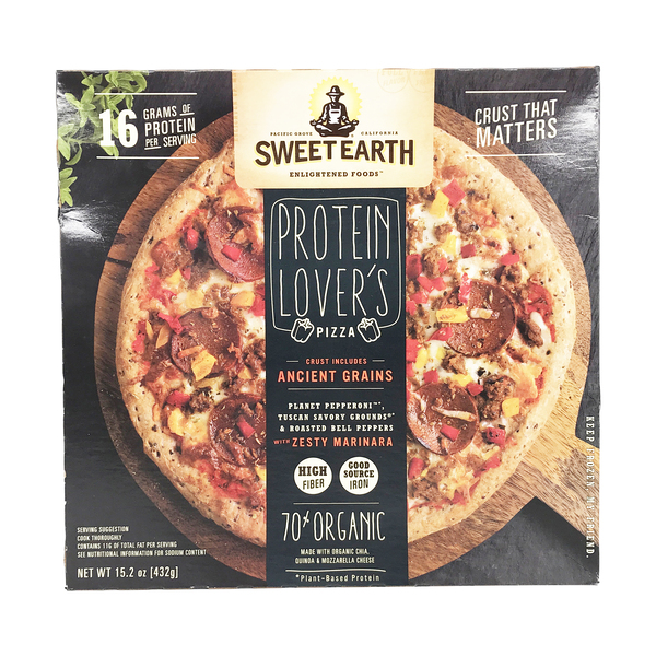 Sweet earth Protein Lover's Pizza, 15.2 oz