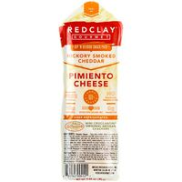 Redclay Gourmet Dip 'N Devour Snack Pack, Pimiento Cheese, Hickory Smoked Cheddar