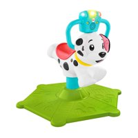 Fisher-Price Bounce and Spin Interactive Puppy with Lights and Sounds