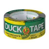 Duck Electrician's Grade 1.88 in x 30 yd Silver Duct Tape